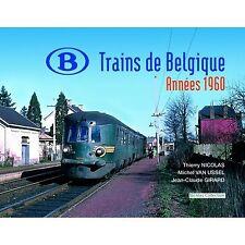 Nicolas Collection NC3F BUCH Trains de Belgique Années 1960 Neu+OVP