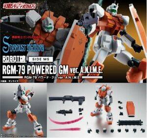 A.N.I.M.E. Premium BANDAI ROBOT SPIRITS SIDE MS RGM-79C GM TYPE C SPACE ver