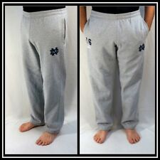 Adidas NOTRE DAME Gray Athletic/Workout Cotton/Poly Warm Ups Sz (S) Small #10206