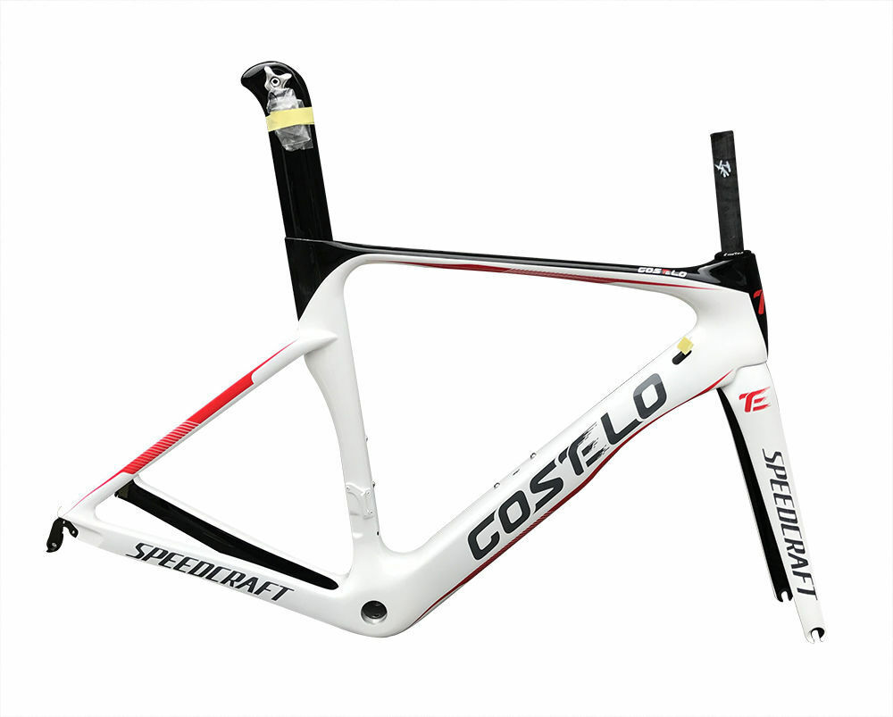 Costelo Speedcraft Carbon Fiber Bike Frame Road bicycle frameset fork seatpost