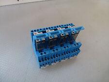 4 Stück Finder 55.34.9.024.0040, 24VDC 7A 250V~ auf Sockel 94.84.3