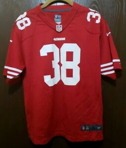 new products dde27 b9de1 Details about Nike Red Jarryd Hayne San Francisco 49ers #38 Football Jersey  Youth Large 14-16