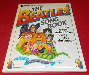 The Beatles Song Book mit einem ausführlichen Beitrag über John Lennon