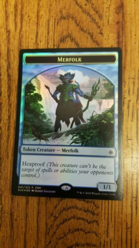Treasure Foil Token x1 MTG Magic The Gathering Merfolk