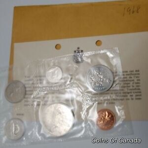 1968-Canada-Prooflike-6-Coin-Original-Set-Multiple-Sets-Available-coinsofcanada