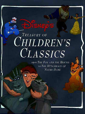 1 of 1 - Disney's Treasury of Children's Classics by Reader's Digest (Hardback, 1998)