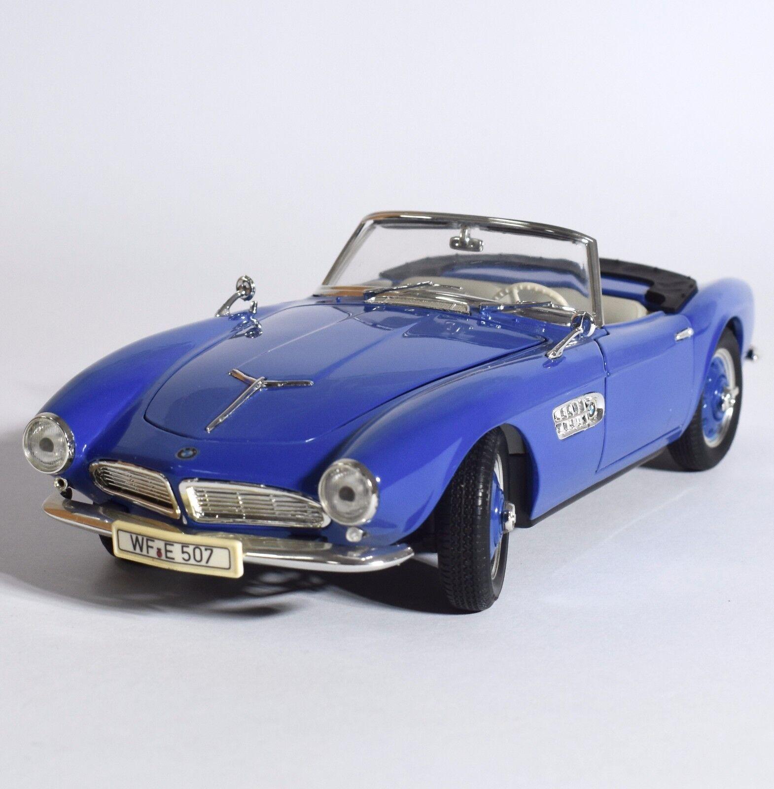 REVELL 08810 BMW 507 TOUbague  SPORT CABRIOLET en bleu laqué, 1 18, NEUF dans sa boîte, k011  connotation de luxe discret