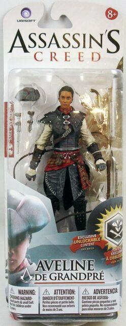 Assassin's Creed Series 2 Mcfarlane Aveline De Grandpre Action Figure