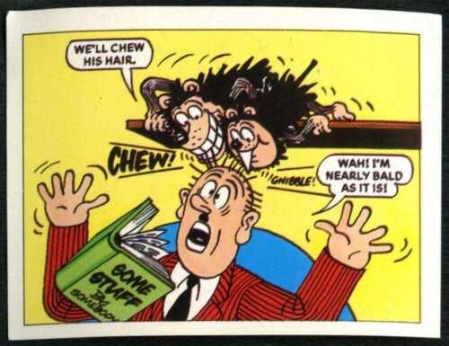 The Magic Of The Beano #14 Merlin 1989 Sticker C846