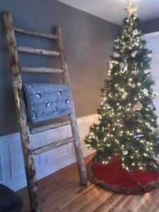 Awe Inspiring Details About Log Blanket Ladder Rustic Cabin Decor Twist Of Nature Log Furniture Free Ship Download Free Architecture Designs Rallybritishbridgeorg