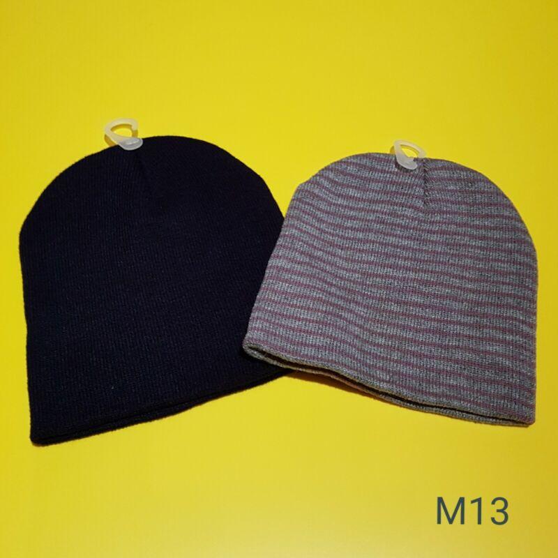 2 Stück Strickmütze Damen Herren Mütze