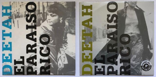 Madonna   Deetah  El Paraiso Rico   1998 UK 2x CD's