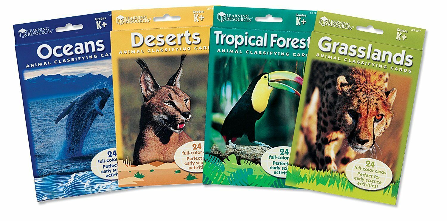 Classifying Cards Bundle -Learning Resources