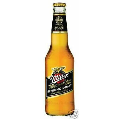 24 Flaschen Miller Beer Genuine Draft 0,33L Bier U.S.A inc. 6€ Pfand USA