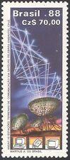 Brazil 1988 Dish Aerial/Radio/TV/Communications/Telecomms/Space 1v (n26582)