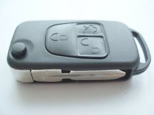 Replacement 3 button flip key case for Mercedes V ML Class remote fob