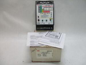 ABB SSAC WVM611AH 3-Phase Voltage Monitor 200-240VAC   eBay