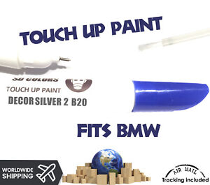 Bmw Decor Silver 2 Color Code B20 New Touch Up Paint For Alloy Wheel