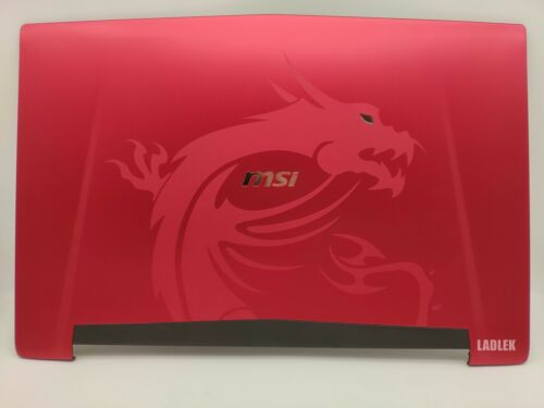 Red LCD back cover Lid for MSI GT72S 6QF Dragon//GT72S Dominator Pro G Dragon
