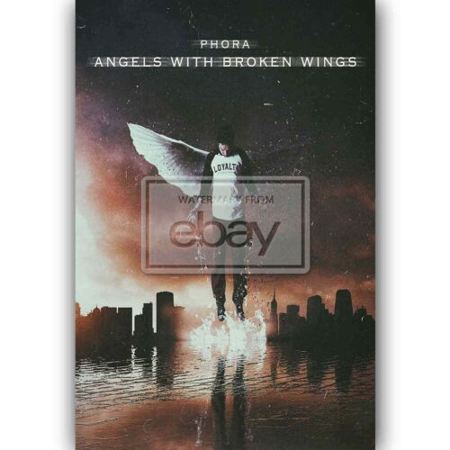 New Custom Silk Poster Phora Angels With Broken Wings Wall Decor