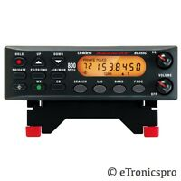 300 Channel Uniden Weather Police Military Emergency Base Scanner With Mount
