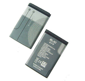 100 genuine original nokia c2 01 c2 02 c2 03 e50 e60 n gage bl 5c battery ebay. Black Bedroom Furniture Sets. Home Design Ideas
