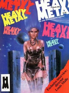 HEAVY METAL VOL 8 NUMBER 12 MARCH 1985 LOUIS MALLE CHARLES BURNS PAUL KIRCHNER