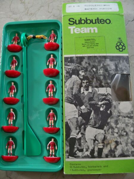 Ambitieus Subbuteo Team Bayern Munchen Lw Ref N.214 Mint Conditions Players Window Box Rijk En Prachtig