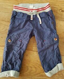 100% De Qualité Mini Club Bébé Garçons Bleu Cargo Style Pantalon 1-1.5 Ans Bon état Utilisé-afficher Le Titre D'origine