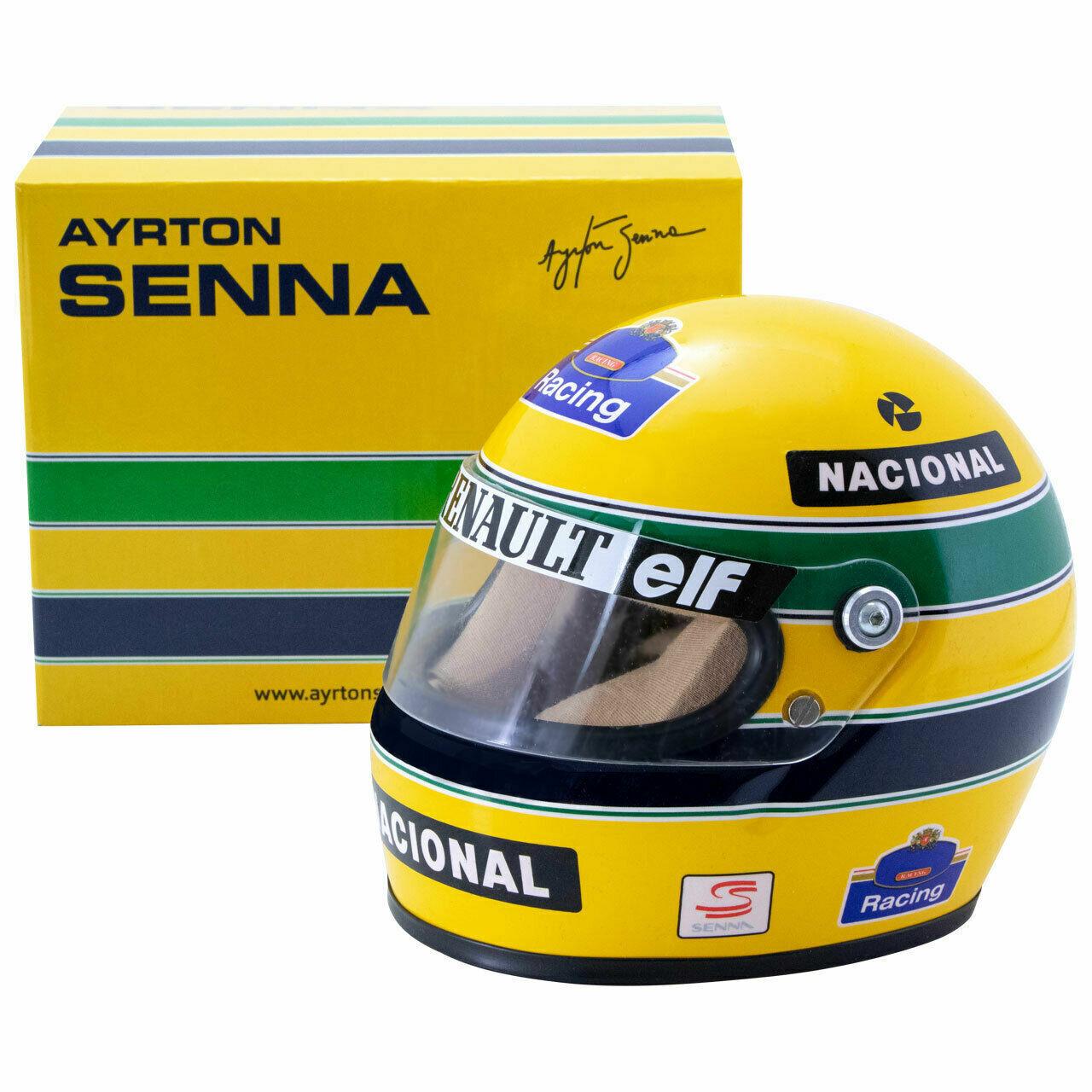 F1 CASQUE HELMET 1 2 AYRTON SENNA WILLIAMS RENAULT 1994