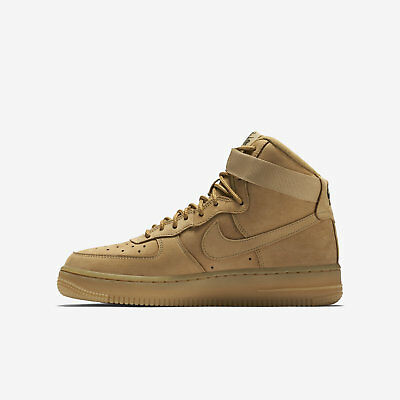 big sale 8280f 591f1 NIKE AIR FORCE 1 HIGH  07 LV8 882096-200 FLAX OUTDOOR GREEN GUM LIGHT