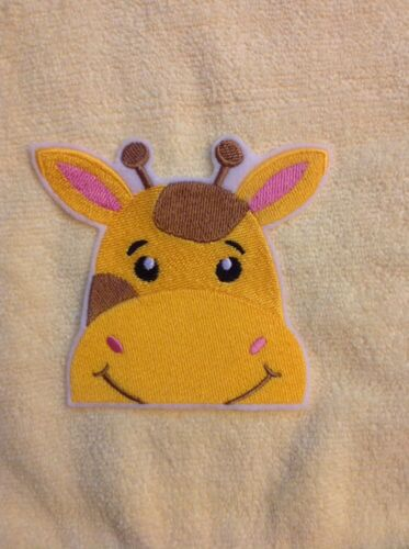 peek a boo Baby animals embroidered patch//applique Giraffe Elephant Alligator