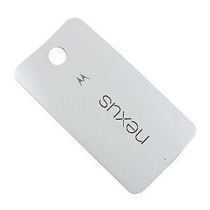 Tapa Trasera Motorola Google Nexus 6 Blanco Original Usado