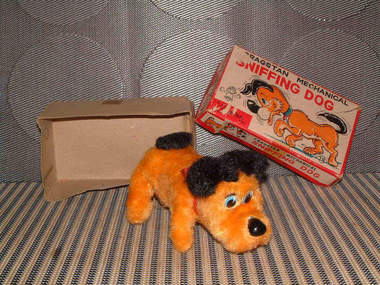 Cragstan Mecánica (Mecánica) rastreo perro por Nomura. perfectamente de trabajo en Caja