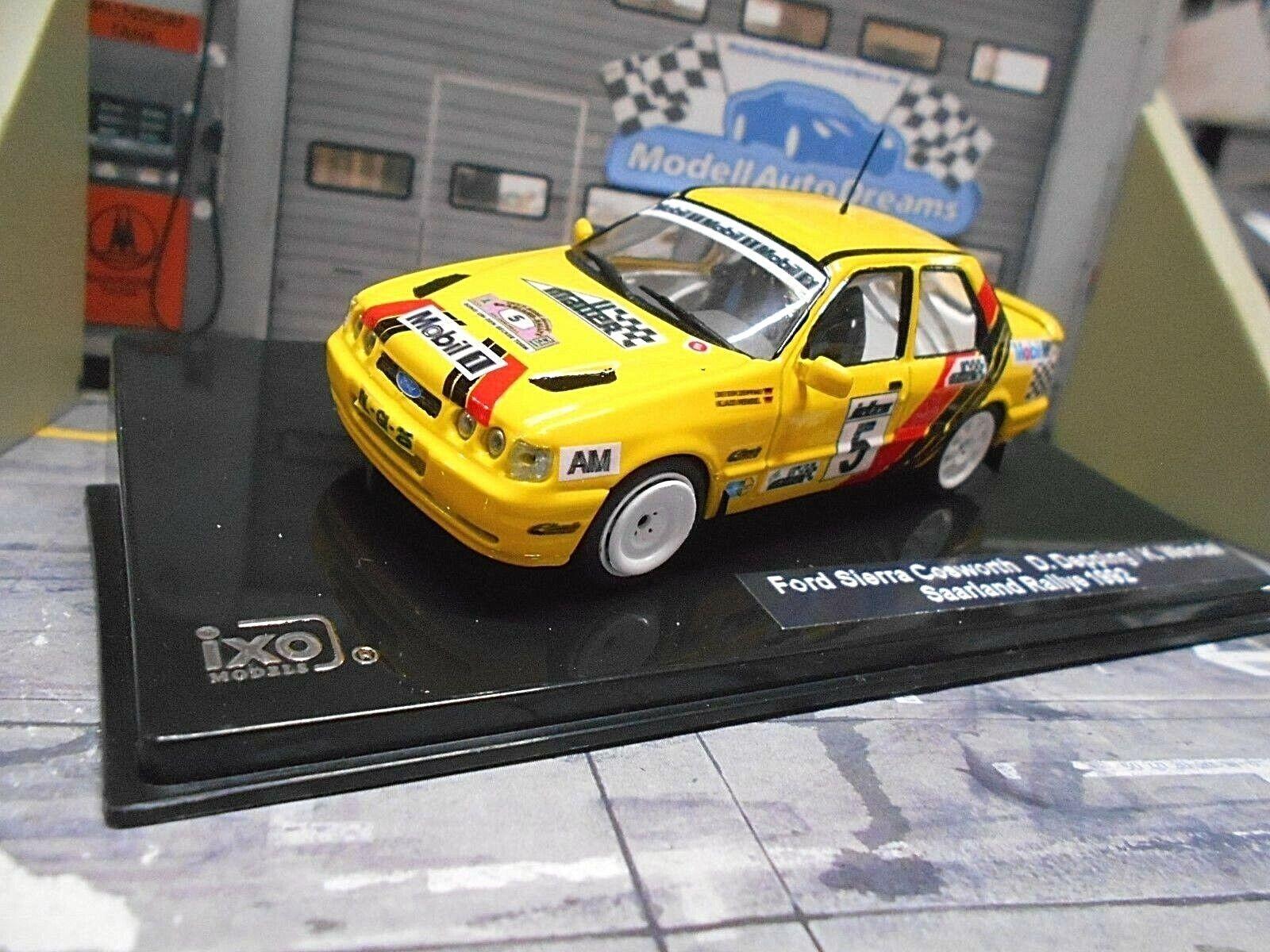 Ford Sierra Cosworth RS 4x4 rally Sarre 1992  5 Depping el móvil transformación 1 43