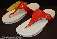 FitFlop Women Superjelly Thong Sandal Flip Flops Beach Shoes US 6 7 8 9 10 11