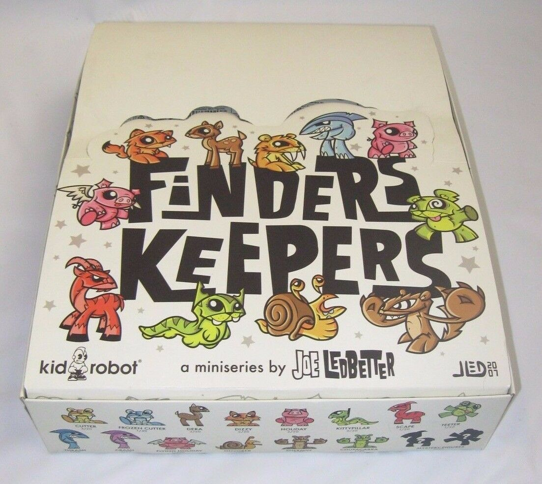Joe Ledbetter FINDERS KEEPERS Complete Full Set Kidrobot JLED Vinyl KR Toys Art