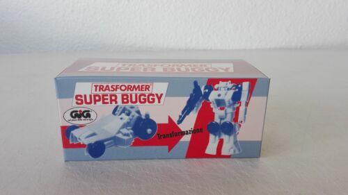 Transformers G1 Buggy Version GIG Box Custom