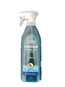 Method Bathroom Cleaner Spray 828ml Non Toxic Eucalyptus Mint Fragrance Ebay