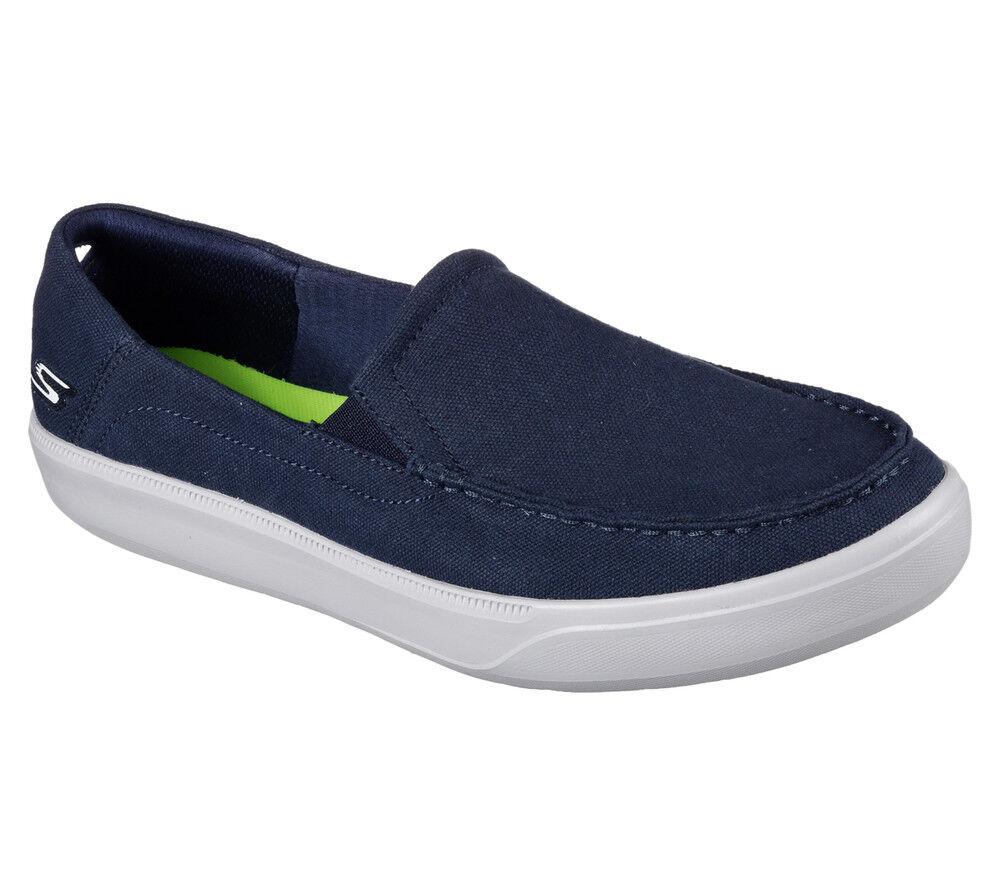 NEU SKECHERS Herren Canvas Sneakers 2 Slipper Loafer GO VULC 2 Sneakers - CHILL OUT Azul 116ff0