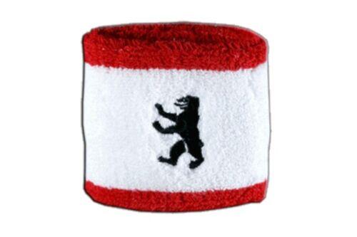 Schweißband Fahne Flagge Deutschland Berlin 7x8cm Armband für Sport
