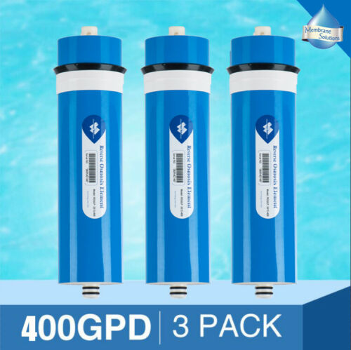 3Pack 400GPD Reverse Osmosis Membrane Top Quality Replacement for 3012 RO system