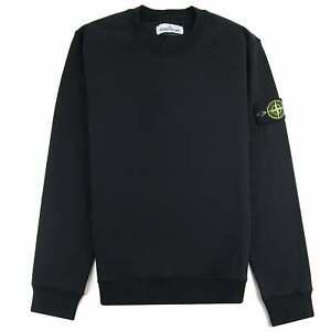 Stone-Island-63051-Crewneck-Sweatshirt-Black-V0029