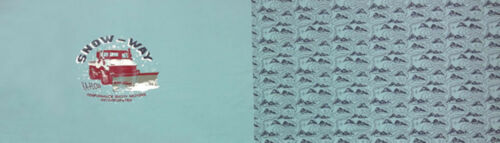 French terry sustancia snow-Way panel 155 x 52 cm