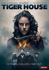 Tiger House (DVD, 2015, Widescreen) Kaya Scodelario, Boyd, Skrein - Like New