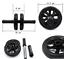 Home Gym Fitness Training Double Ab Roller Ab Wheel Workout Abs Training Machine