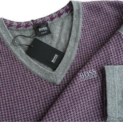 %%% Excl. Hugo Boss Pullover Tg S, Slim Fit, Forma: Motivazionale%%%-mostra Il Titolo Originale