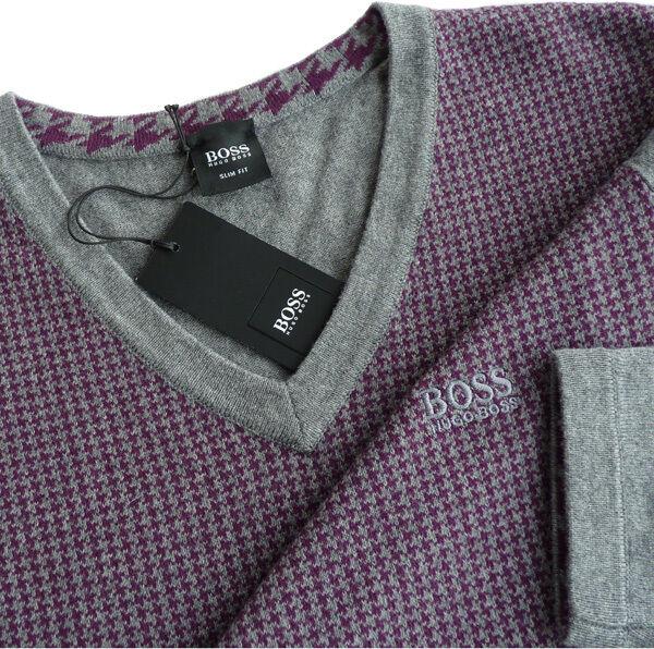 %%% Escl. Hugo Boss Pullover Tg. S, Slim Fit, Forma: Barvin%%%