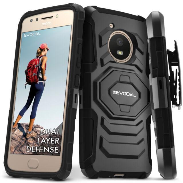 lowest price d9aa2 0b9e7 Motorola Moto E4 Case Evocel Generation Series Belt Clip Holster Kicksta