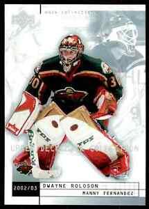 2002-03-Upper-Deck-Mask-Collection-Manny-Fernandez-Dwayne-Roloson-43